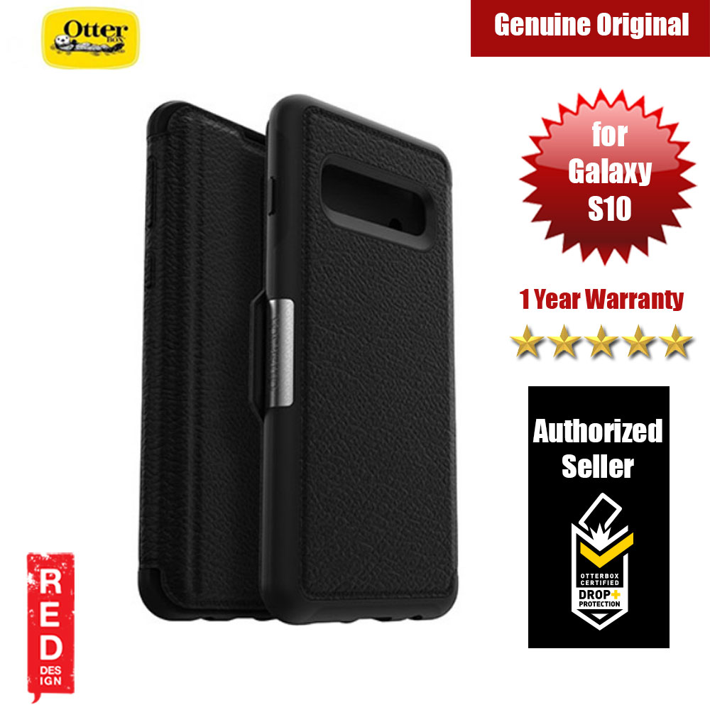 Picture of Otterbox Strada Series Leather Folio Protection Case for Samsung Galaxy S10 (Black) Samsung Galaxy S10- Samsung Galaxy S10 Cases, Samsung Galaxy S10 Covers, iPad Cases and a wide selection of Samsung Galaxy S10 Accessories in Malaysia, Sabah, Sarawak and Singapore