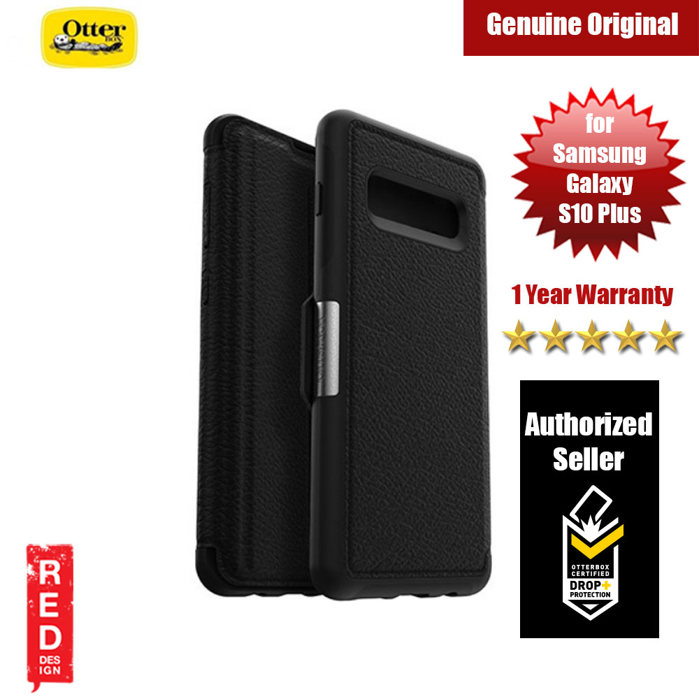 Picture of Otterbox Strada Series Leather Folio Protection Case for Samsung Galaxy S10 Plus (Black) Samsung Galaxy S10 Plus- Samsung Galaxy S10 Plus Cases, Samsung Galaxy S10 Plus Covers, iPad Cases and a wide selection of Samsung Galaxy S10 Plus Accessories in Malaysia, Sabah, Sarawak and Singapore