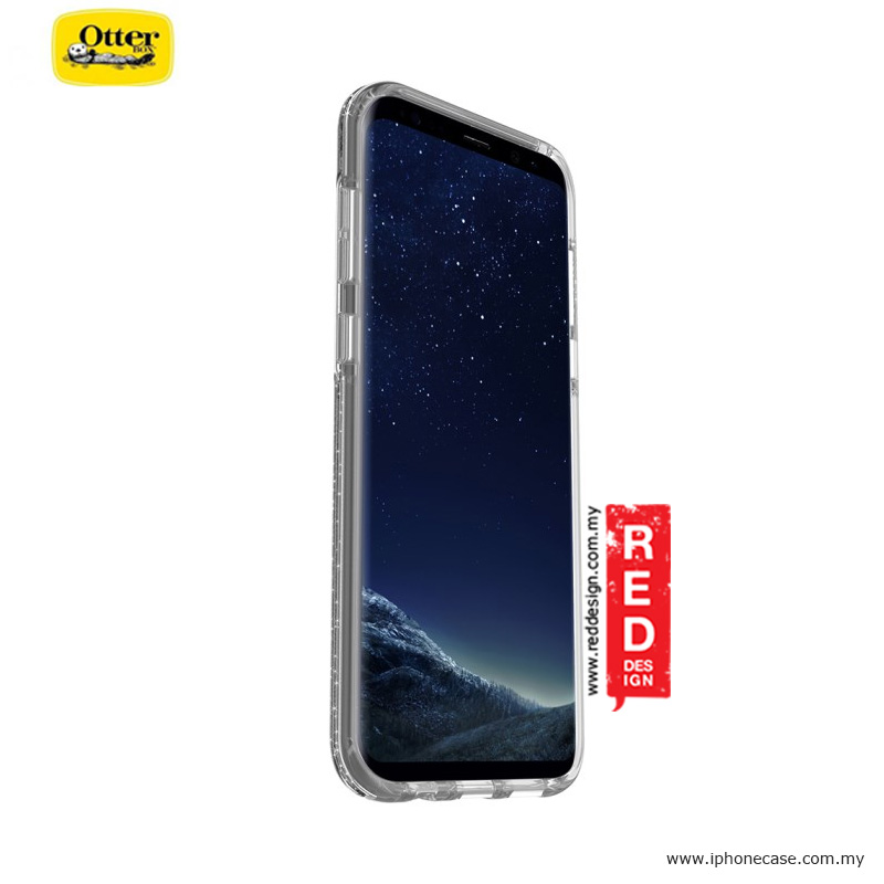 Picture of Samsung Galaxy S8 Plus Case | Otterbox Symmetry Clear Series Protection Case for Samsung Galaxy S8 Plus - Stardust