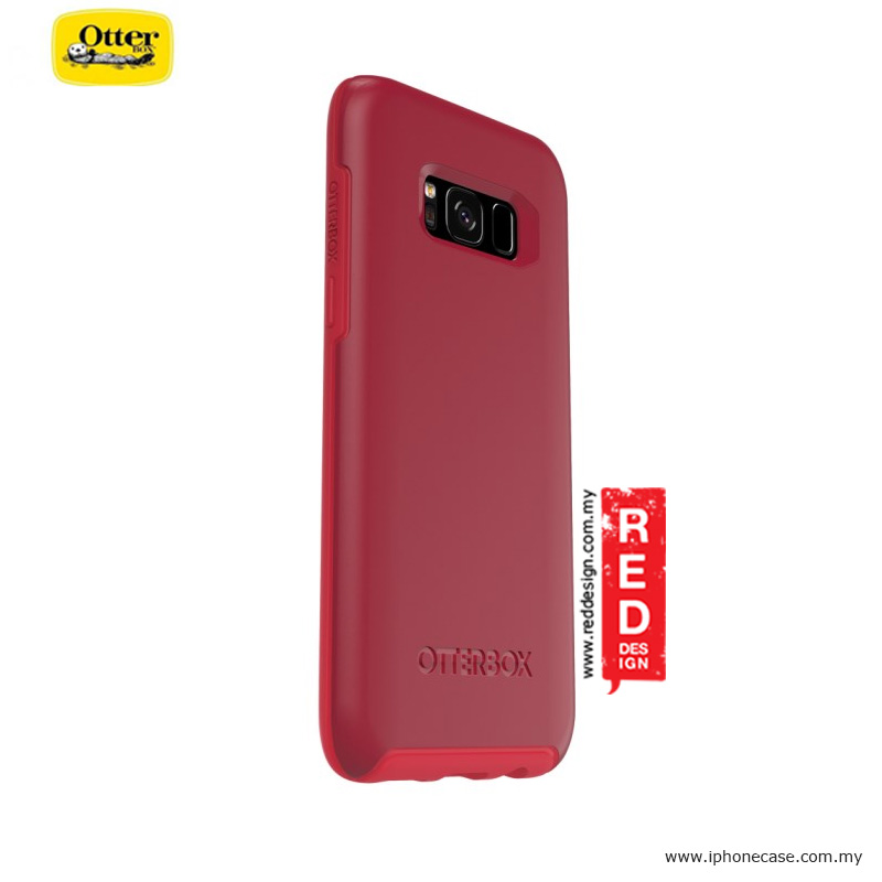 Picture of Samsung Galaxy S8 Case | Otterbox Symmetry Series Protection Case for Samsung Galaxy S8 - Rosso Corsa