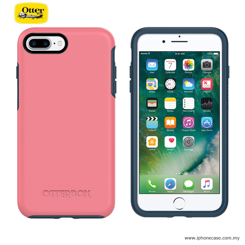 brand new 536cb 7529c Otterbox Symmetry Series Protection Case for Apple iPhone 7 Plus iPhone 8  Plus 5.5 - Saltwater Taffy