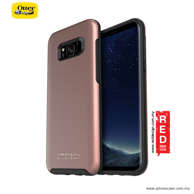 Picture of Otterbox Symmetry Metallic Series Protection Case for Samsung Galaxy S8 Plus - Pink Gold Samsung Galaxy S8 Plus- Samsung Galaxy S8 Plus Cases, Samsung Galaxy S8 Plus Covers, iPad Cases and a wide selection of Samsung Galaxy S8 Plus Accessories in Malaysia, Sabah, Sarawak and Singapore