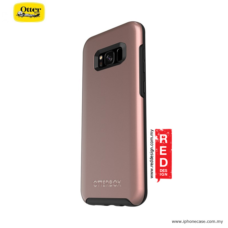Picture of Samsung Galaxy S8 Plus Case | Otterbox Symmetry Metallic Series Protection Case for Samsung Galaxy S8 Plus - Pink Gold