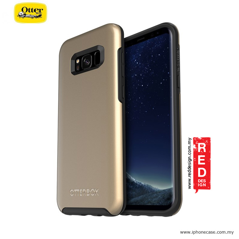 Picture of Otterbox Symmetry Metallic Series Protection Case for Samsung Galaxy S8 Plus - Platinum Gold Samsung Galaxy S8 Plus- Samsung Galaxy S8 Plus Cases, Samsung Galaxy S8 Plus Covers, iPad Cases and a wide selection of Samsung Galaxy S8 Plus Accessories in Malaysia, Sabah, Sarawak and Singapore