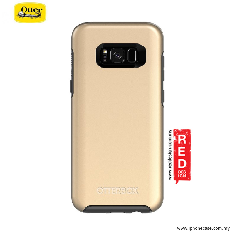 Picture of Samsung Galaxy S8 Plus Case | Otterbox Symmetry Metallic Series Protection Case for Samsung Galaxy S8 Plus - Platinum Gold