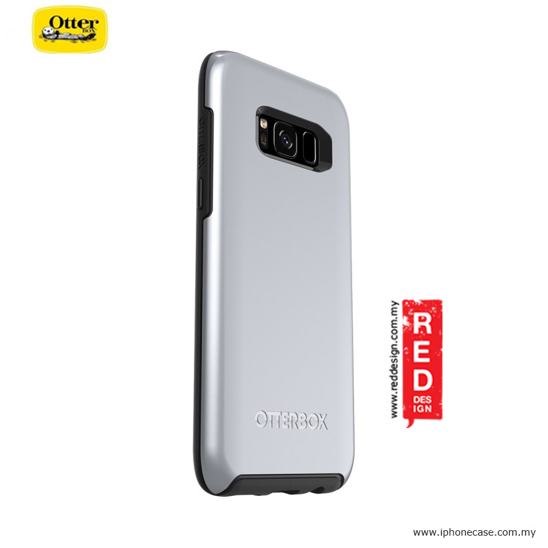Picture of Samsung Galaxy S8 Case | Otterbox Symmetry Metallic Series Protection Case for Samsung Galaxy S8 - Titanium Silver
