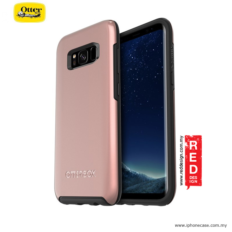 Picture of Otterbox Symmetry Metallic Series Protection Case for Samsung Galaxy S8 - Pink Gold Samsung Galaxy S8- Samsung Galaxy S8 Cases, Samsung Galaxy S8 Covers, iPad Cases and a wide selection of Samsung Galaxy S8 Accessories in Malaysia, Sabah, Sarawak and Singapore