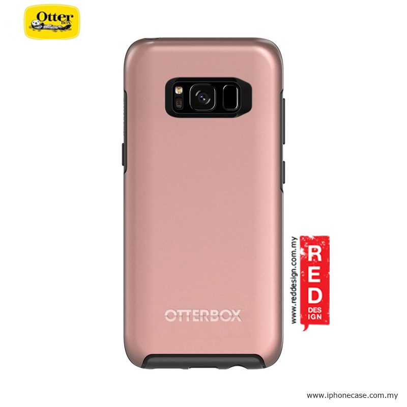 Picture of Samsung Galaxy S8 Case | Otterbox Symmetry Metallic Series Protection Case for Samsung Galaxy S8 - Pink Gold