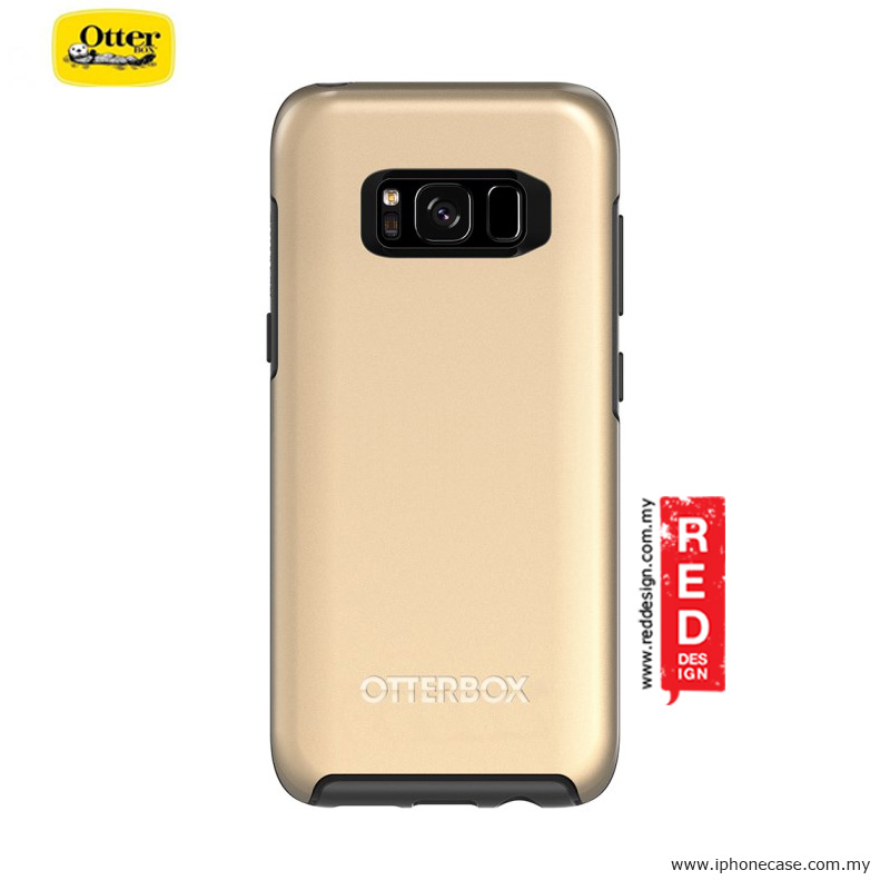 Picture of Samsung Galaxy S8 Case | Otterbox Symmetry Metallic Series Protection Case for Samsung Galaxy S8 - Platinum Gold