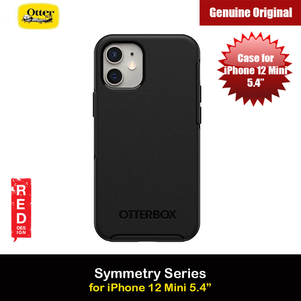 Picture of Otterbox Symmetry Series Protection Case for Apple iPhone 12 Mini 5.4 (Black) Apple iPhone 12 mini 5.4- Apple iPhone 12 mini 5.4 Cases, Apple iPhone 12 mini 5.4 Covers, iPad Cases and a wide selection of Apple iPhone 12 mini 5.4 Accessories in Malaysia, Sabah, Sarawak and Singapore