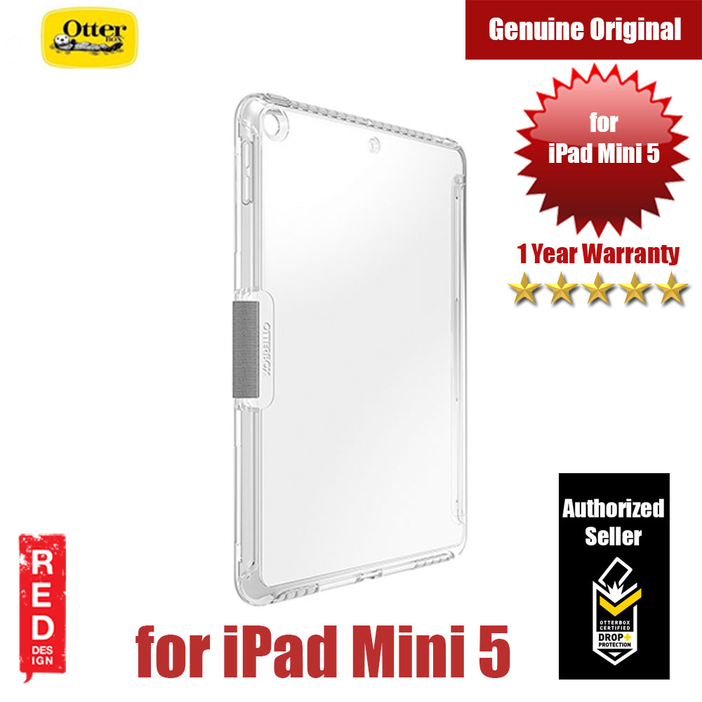 Picture of Otterbox Symmetry Series Clear Case Protection Case for iPad Mini 5 2019 (Clear) Apple iPad 5- Apple iPad 5 Cases, Apple iPad 5 Covers, iPad Cases and a wide selection of Apple iPad 5 Accessories in Malaysia, Sabah, Sarawak and Singapore