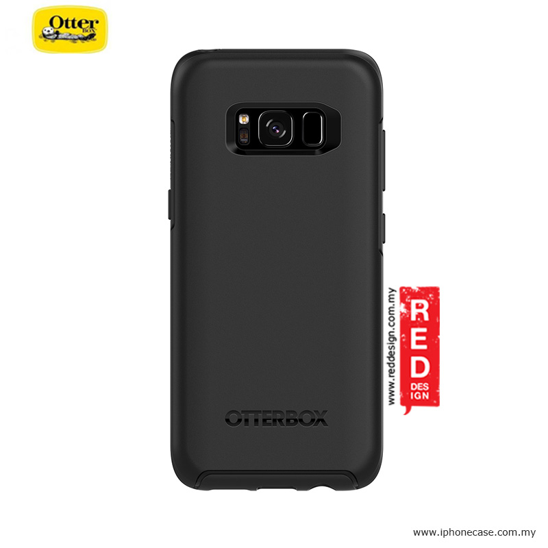 Picture of Samsung Galaxy S8 Case | Otterbox Symmetry Series Protection Case for Samsung Galaxy S8 - Black