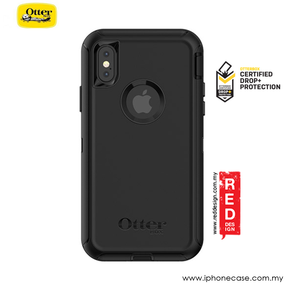 Picture of Apple iPhone X Case | Otterbox Defender Series Screenless Edition Case for Apple iPhone X (Black)