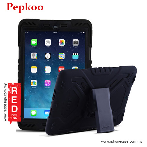 Picture of Pepkoo Drop Proof Protection Case for iPad Pro 9.7 - Black Apple iPad Pro 9.7- Apple iPad Pro 9.7 Cases, Apple iPad Pro 9.7 Covers, iPad Cases and a wide selection of Apple iPad Pro 9.7 Accessories in Malaysia, Sabah, Sarawak and Singapore