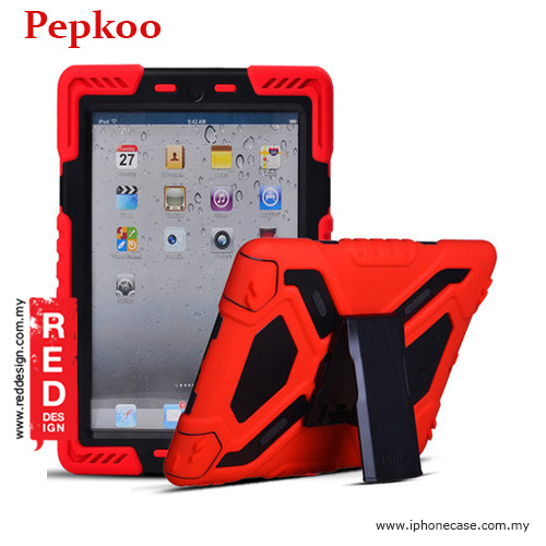 Picture of Pepkoo Drop Proof Protection Case for iPad Pro 9.7 - Red Apple iPad Pro 9.7- Apple iPad Pro 9.7 Cases, Apple iPad Pro 9.7 Covers, iPad Cases and a wide selection of Apple iPad Pro 9.7 Accessories in Malaysia, Sabah, Sarawak and Singapore