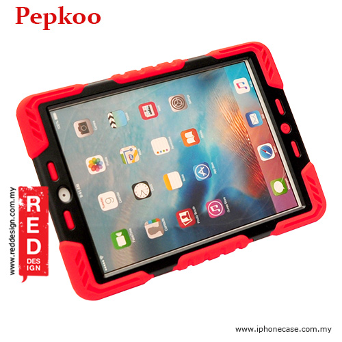Picture of Apple iPad Pro 9.7 Case | Pepkoo Drop Proof Protection Case for iPad Pro 9.7 - Red