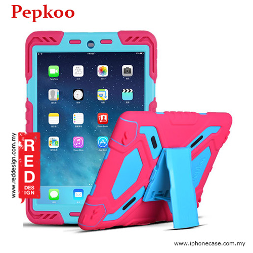Picture of Pepkoo Drop Proof Protection Case for iPad Pro 9.7 - Pink Apple iPad Pro 9.7- Apple iPad Pro 9.7 Cases, Apple iPad Pro 9.7 Covers, iPad Cases and a wide selection of Apple iPad Pro 9.7 Accessories in Malaysia, Sabah, Sarawak and Singapore
