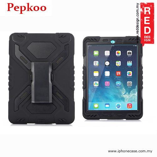 Picture of Pepkoo Drop Proof Protection Case for iPad Air 2 - Black Apple iPad Air 2- Apple iPad Air 2 Cases, Apple iPad Air 2 Covers, iPad Cases and a wide selection of Apple iPad Air 2 Accessories in Malaysia, Sabah, Sarawak and Singapore