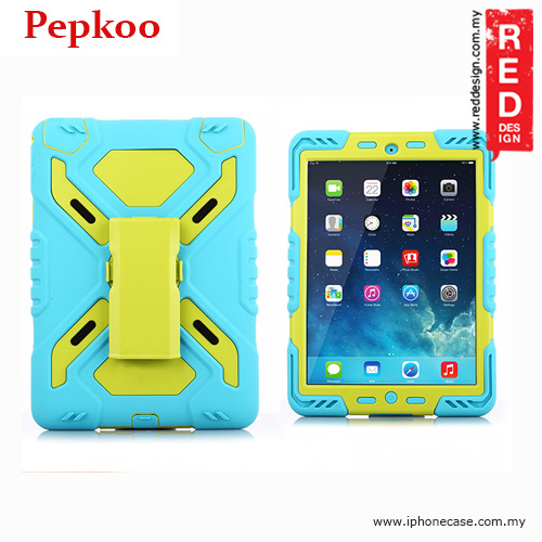 Picture of Pepkoo Drop Proof Protection Case for iPad Air 2 - Blue Apple iPad Air 2- Apple iPad Air 2 Cases, Apple iPad Air 2 Covers, iPad Cases and a wide selection of Apple iPad Air 2 Accessories in Malaysia, Sabah, Sarawak and Singapore