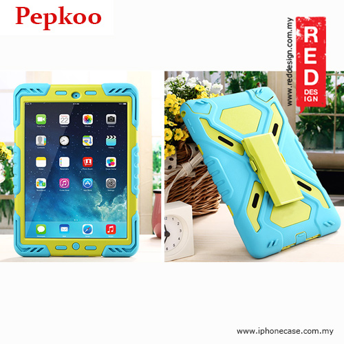 Picture of Apple iPad Air 2 Case | Pepkoo Drop Proof Protection Case for iPad Air 2 - Blue
