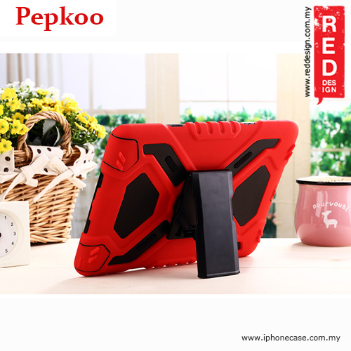 Picture of Apple iPad Air 2 Case | Pepkoo Drop Proof Protection Case for iPad Air 2 - Red