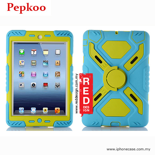 Picture of Pepkoo Drop Proof Protection Case for iPad Mini iPad Mini 2 & 3 - Blue Apple iPad Mini- Apple iPad Mini Cases, Apple iPad Mini Covers, iPad Cases and a wide selection of Apple iPad Mini Accessories in Malaysia, Sabah, Sarawak and Singapore