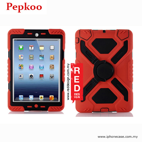 Picture of Pepkoo Drop Proof Protection Case for iPad Mini iPad Mini 2 & 3 - Red Apple iPad Mini 2 & 3- Apple iPad Mini 2 & 3 Cases, Apple iPad Mini 2 & 3 Covers, iPad Cases and a wide selection of Apple iPad Mini 2 & 3 Accessories in Malaysia, Sabah, Sarawak and Singapore