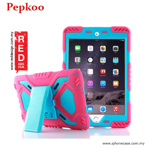 Picture of Pepkoo Drop Proof Protection Case for iPad Mini 4 - Pink Apple iPad Mini 4- Apple iPad Mini 4 Cases, Apple iPad Mini 4 Covers, iPad Cases and a wide selection of Apple iPad Mini 4 Accessories in Malaysia, Sabah, Sarawak and Singapore