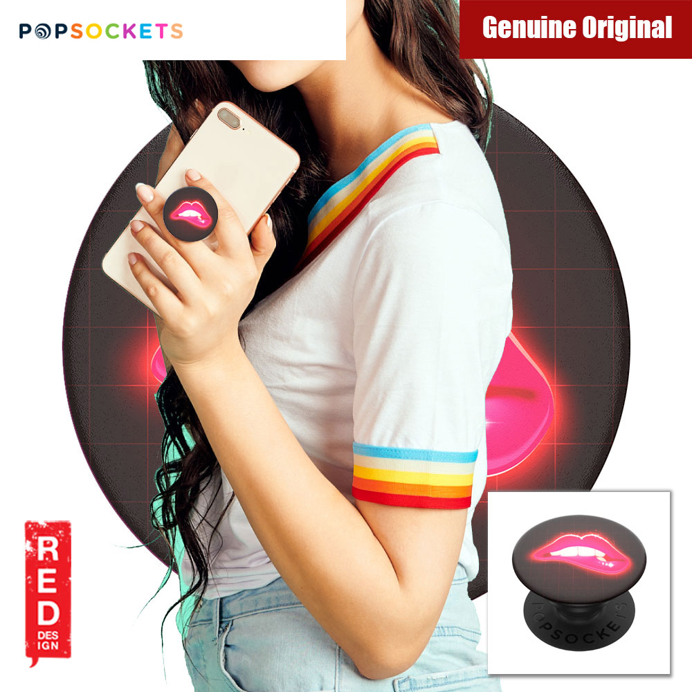 Picture of Popsockets A Phone Grip A Phone Stand An Earbud Management System (Neon Lips) Red Design- Red Design Cases, Red Design Covers, iPad Cases and a wide selection of Red Design Accessories in Malaysia, Sabah, Sarawak and Singapore