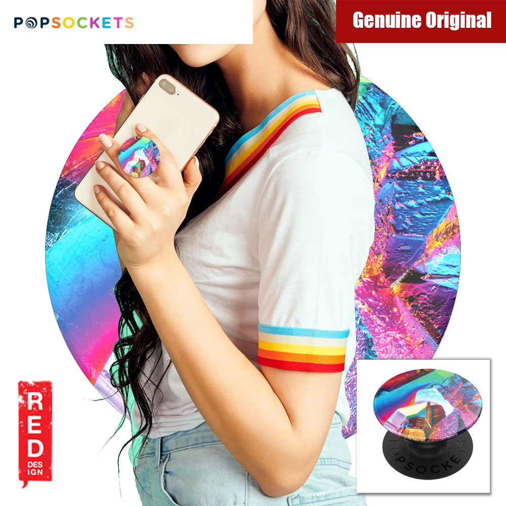 Picture of Popsockets A Phone Grip A Phone Stand An Earbud Management System (Rainbow Gem Gloss) Red Design- Red Design Cases, Red Design Covers, iPad Cases and a wide selection of Red Design Accessories in Malaysia, Sabah, Sarawak and Singapore