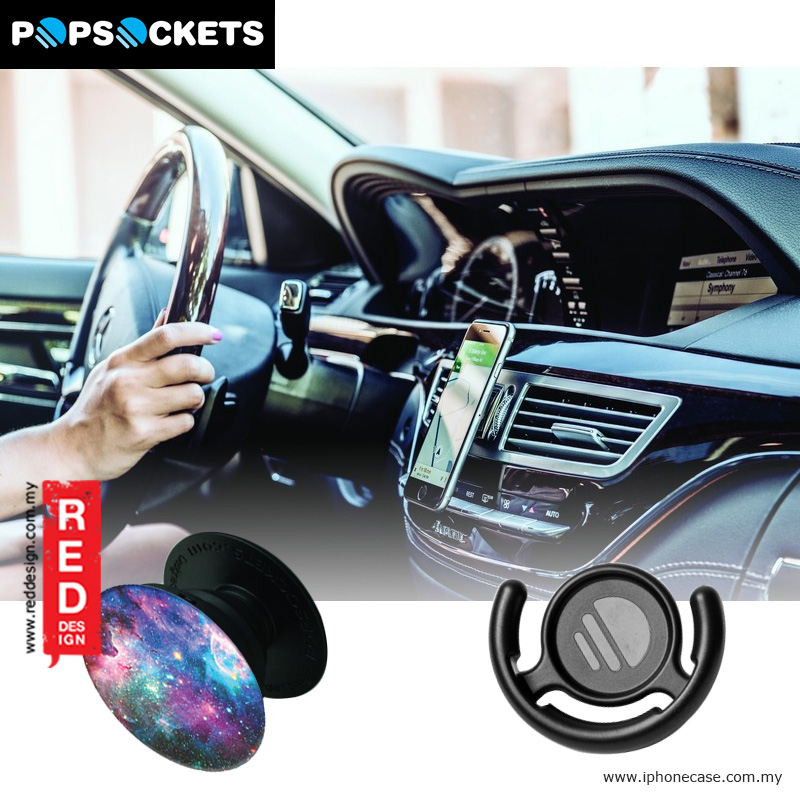 Picture of Popsockets A Phone Grip A Phone Stand An Earbud Management System - Blue Nebula with Popclip Red Design- Red Design Cases, Red Design Covers, iPad Cases and a wide selection of Red Design Accessories in Malaysia, Sabah, Sarawak and Singapore
