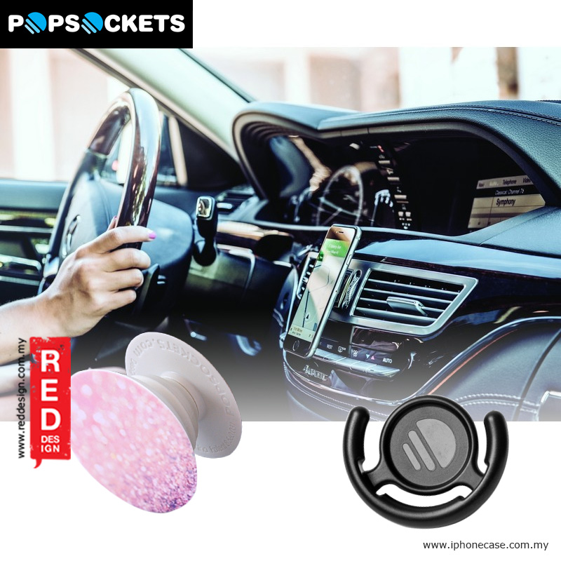 Picture of Popsockets A Phone Grip A Phone Stand An Earbud Management System - Brush with Popclip Red Design- Red Design Cases, Red Design Covers, iPad Cases and a wide selection of Red Design Accessories in Malaysia, Sabah, Sarawak and Singapore