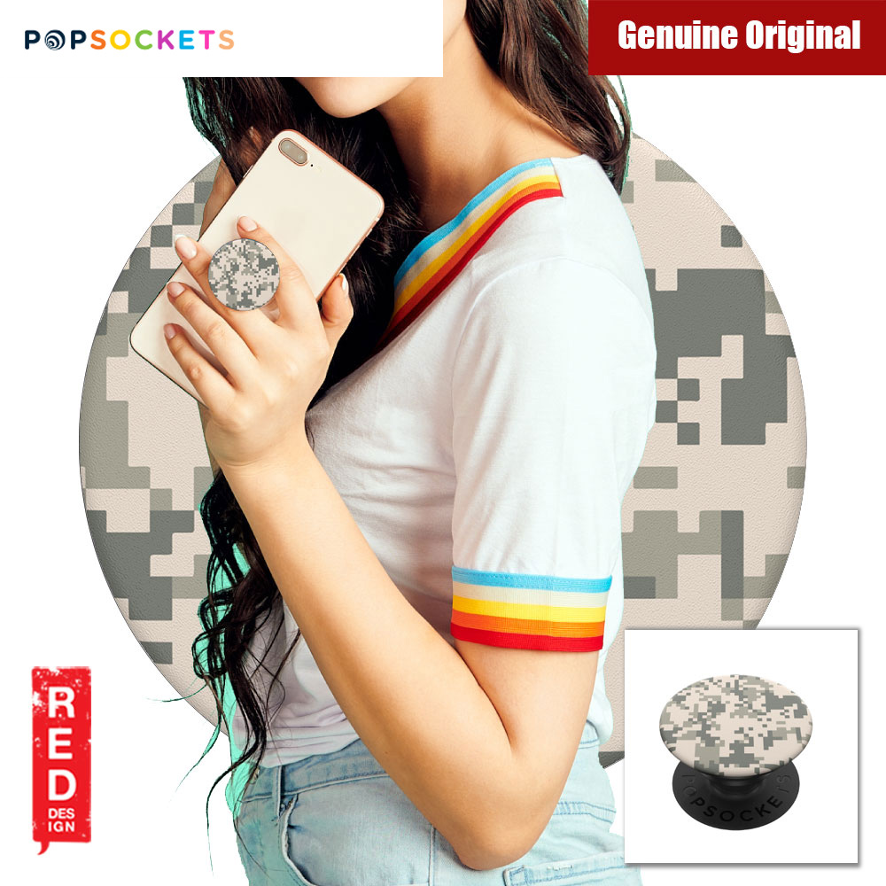 Picture of Popsockets A Phone Grip A Phone Stand An Earbud Management System (Digital Camo) Red Design- Red Design Cases, Red Design Covers, iPad Cases and a wide selection of Red Design Accessories in Malaysia, Sabah, Sarawak and Singapore