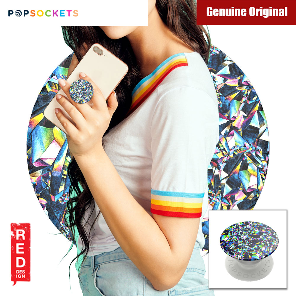 Picture of Popsockets A Phone Grip A Phone Stand An Earbud Management System (Facet Gloss) Red Design- Red Design Cases, Red Design Covers, iPad Cases and a wide selection of Red Design Accessories in Malaysia, Sabah, Sarawak and Singapore