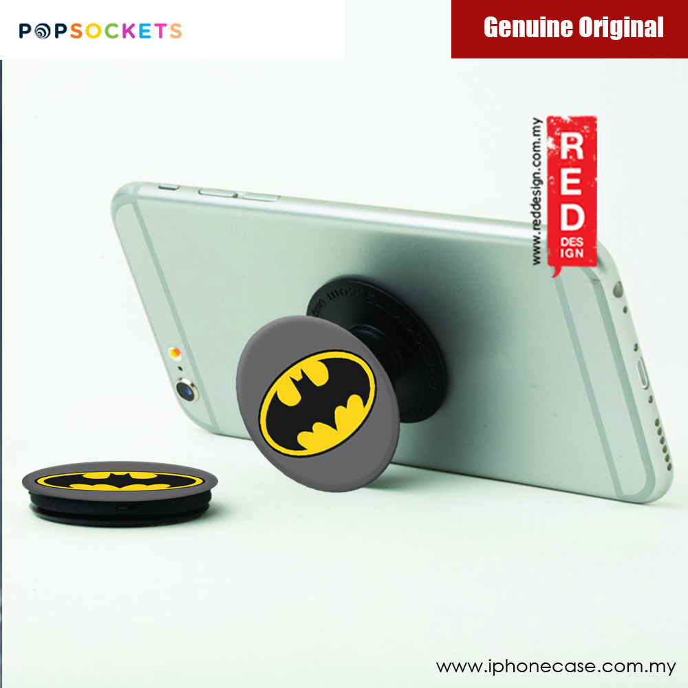 Picture of Popsockets A Phone Grip A Phone Stand An Earbud Management System (Batman Icon) Licence: Marvel edition