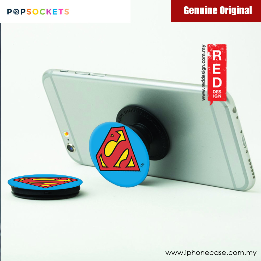 Picture of Popsockets A Phone Grip A Phone Stand An Earbud Management System (Superman Icon) Licence: Marvel edition