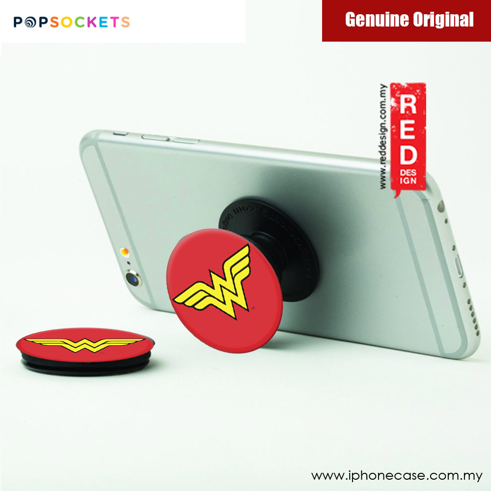 Picture of Popsockets A Phone Grip A Phone Stand An Earbud Management System (Wonder Women Icon) Licence: Marvel edition