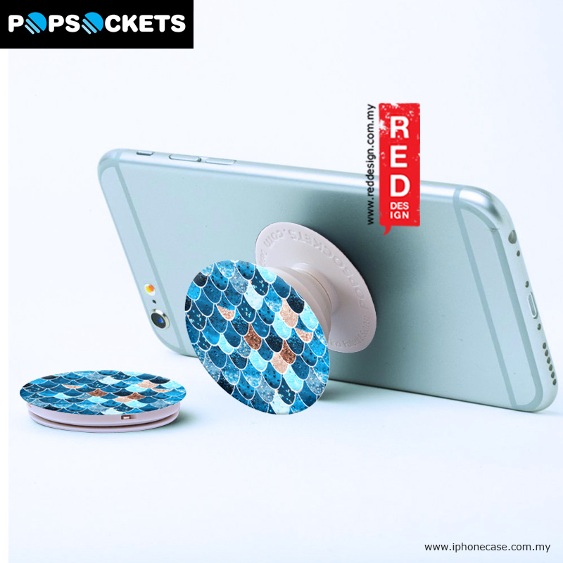 Picture of Popsockets A Phone Grip A Phone Stand An Earbud Management System - Really Mermaid Red Design- Red Design Cases, Red Design Covers, iPad Cases and a wide selection of Red Design Accessories in Malaysia, Sabah, Sarawak and Singapore