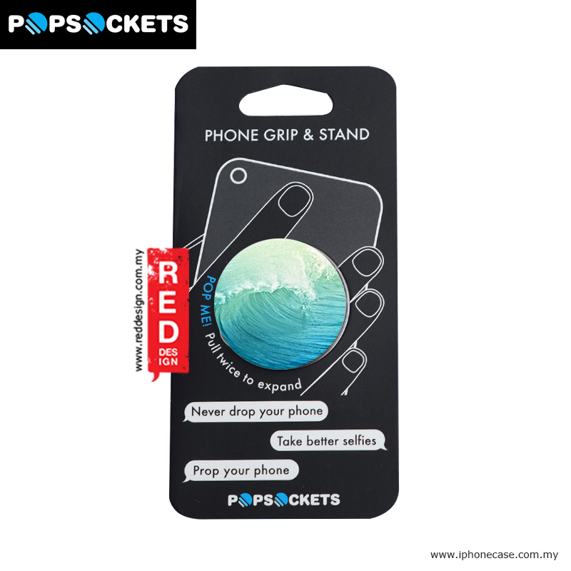 Picture of Popsockets A Phone Grip A Phone Stand An Earbud Management System - Wave