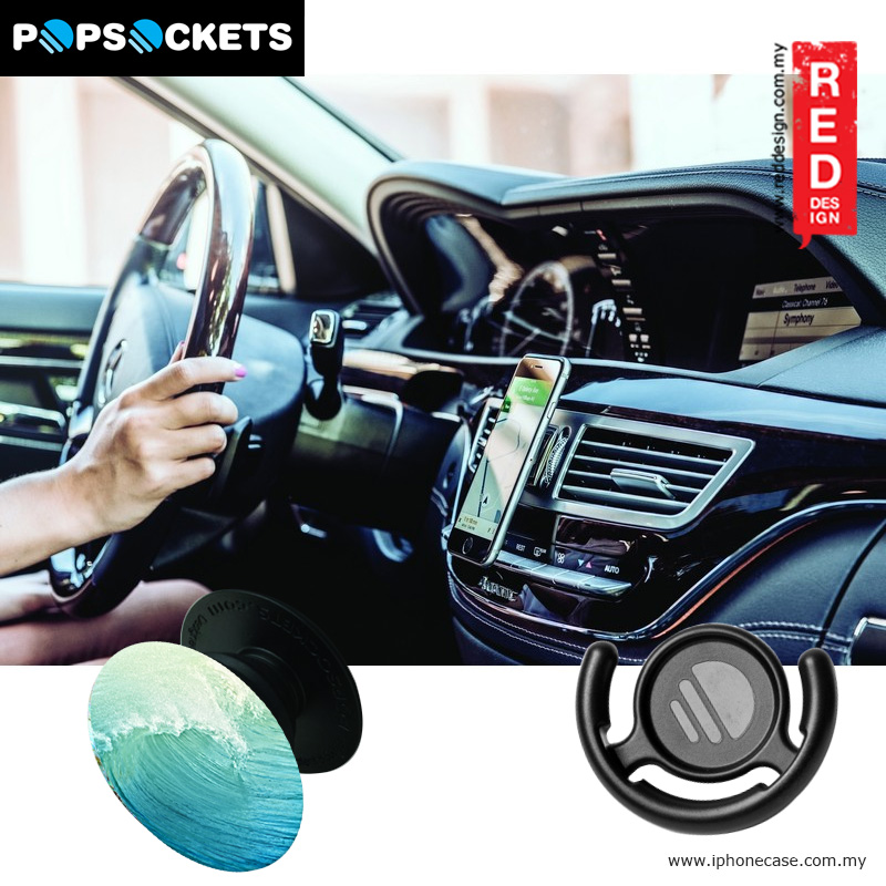 Picture of Popsockets A Phone Grip A Phone Stand An Earbud Management System - Wave with Popclip
