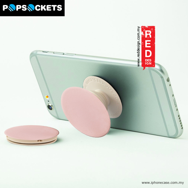Picture of Popsockets A Phone Grip A Phone Stand An Earbud Management System - Rose Gold Aluminum Red Design- Red Design Cases, Red Design Covers, iPad Cases and a wide selection of Red Design Accessories in Malaysia, Sabah, Sarawak and Singapore