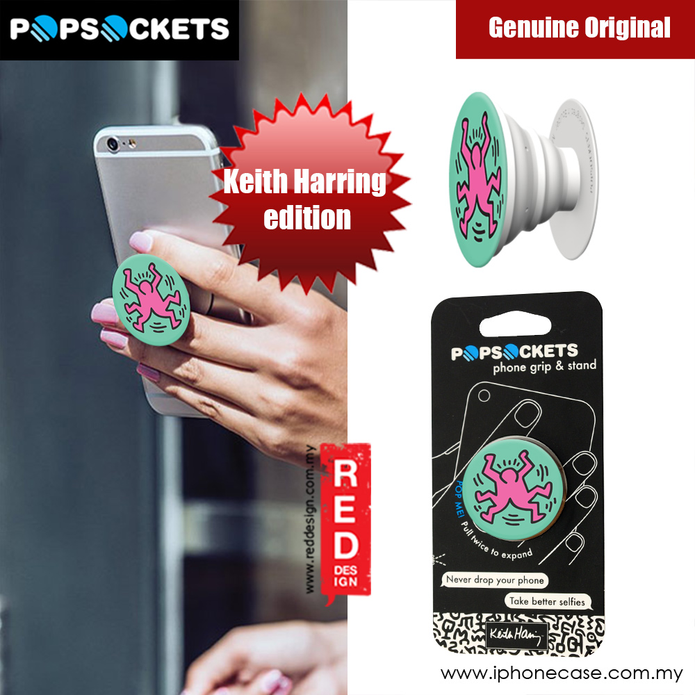 Picture of Popsockets A Phone Grip A Phone Stand An Earbud Management System (SPLIT FIGURE) Licence: Keith Harring edition