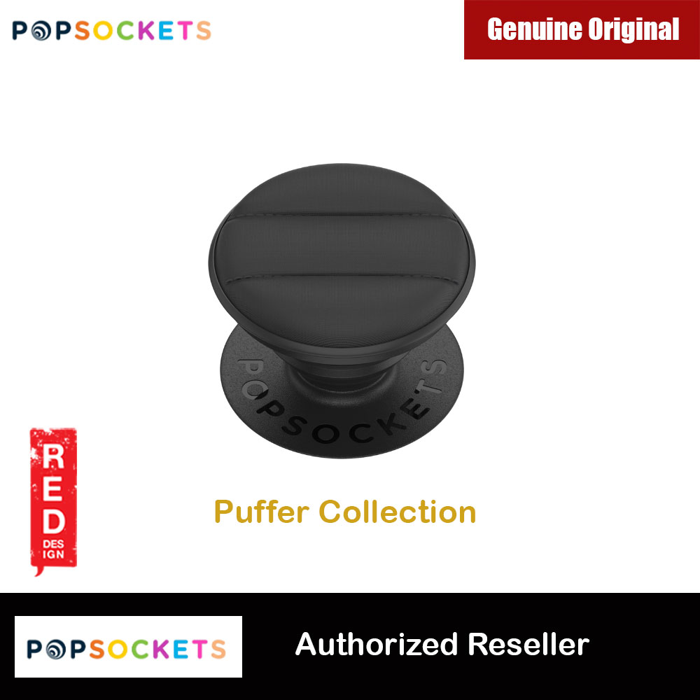 Picture of Popsockets PopGrip Swappable Collection (Puffer Active Black) Red Design- Red Design Cases, Red Design Covers, iPad Cases and a wide selection of Red Design Accessories in Malaysia, Sabah, Sarawak and Singapore