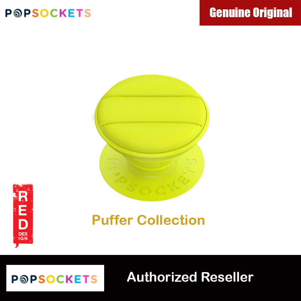 Picture of Popsockets PopGrip Swappable Collection (Puffer Neon Yellow) Red Design- Red Design Cases, Red Design Covers, iPad Cases and a wide selection of Red Design Accessories in Malaysia, Sabah, Sarawak and Singapore