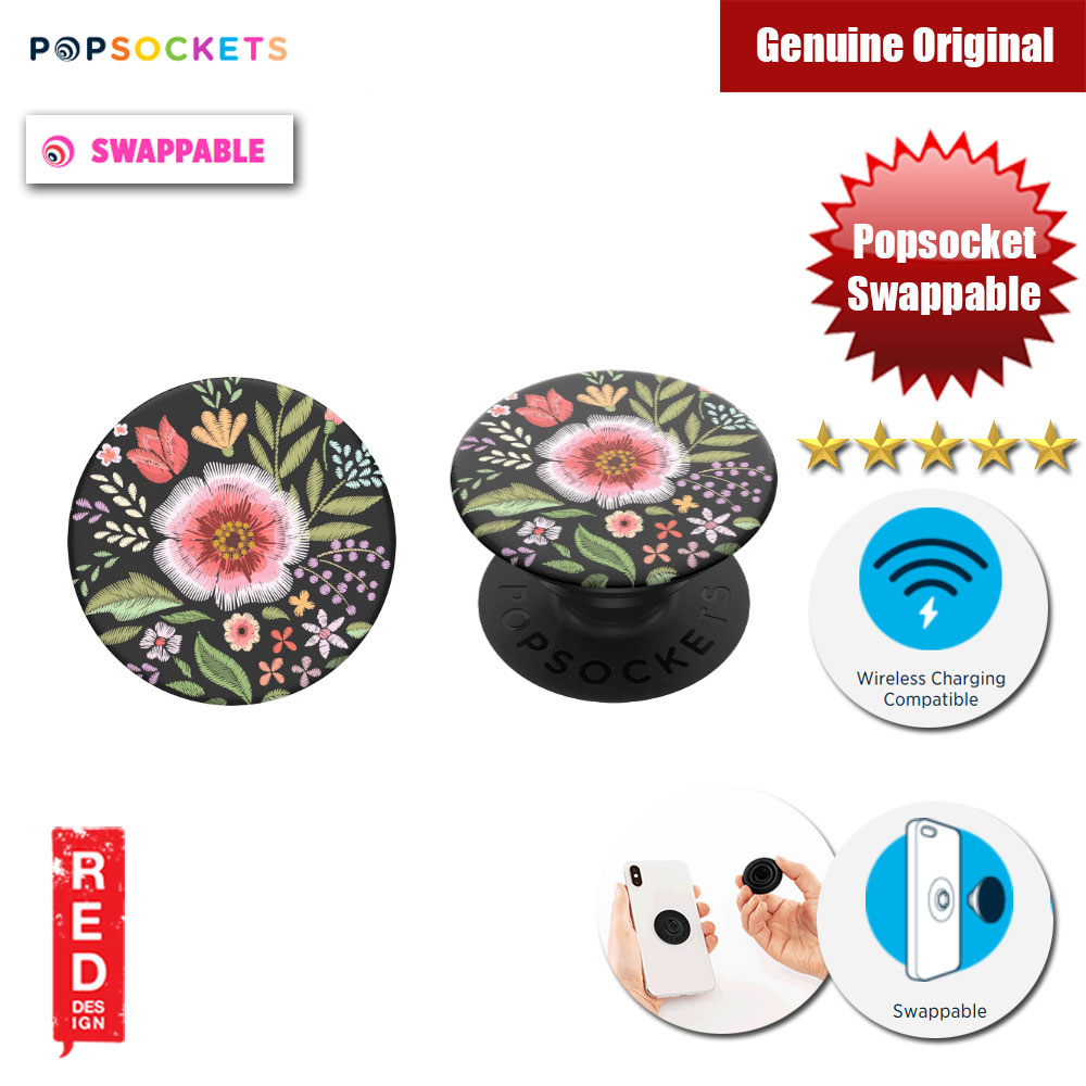 Picture of Popsockets PopGrip Swappable (Flower Flair) Red Design- Red Design Cases, Red Design Covers, iPad Cases and a wide selection of Red Design Accessories in Malaysia, Sabah, Sarawak and Singapore