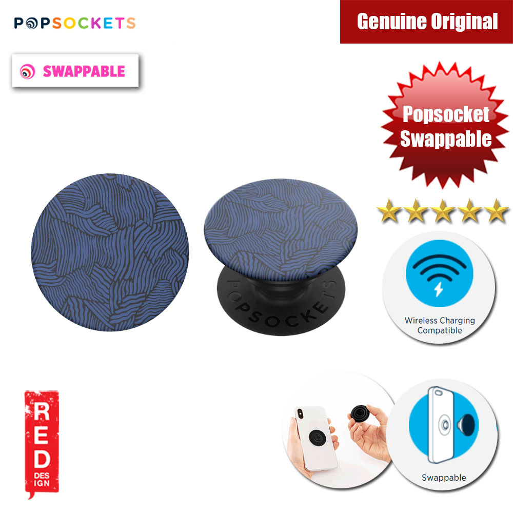 Picture of Popsockets PopGrip Swappable (Indigo Weave) Red Design- Red Design Cases, Red Design Covers, iPad Cases and a wide selection of Red Design Accessories in Malaysia, Sabah, Sarawak and Singapore