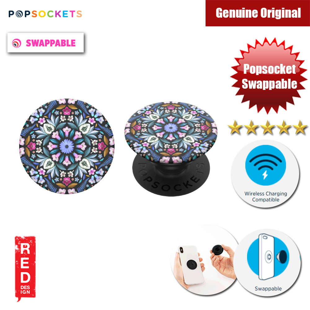 Picture of Popsockets PopGrip Swappable (Kaleido Bloom) Red Design- Red Design Cases, Red Design Covers, iPad Cases and a wide selection of Red Design Accessories in Malaysia, Sabah, Sarawak and Singapore