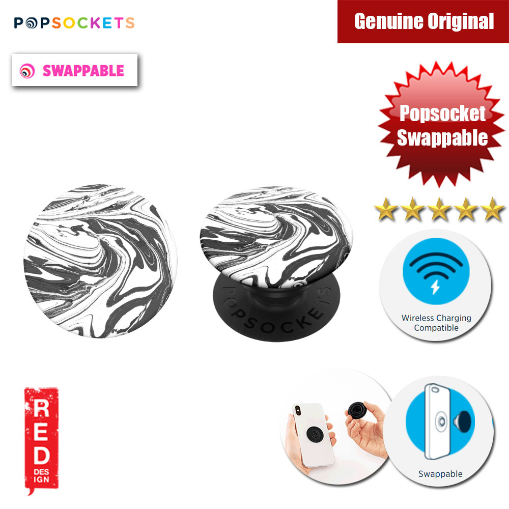 Picture of Popsockets PopGrip Swappable (Mod Marble) Red Design- Red Design Cases, Red Design Covers, iPad Cases and a wide selection of Red Design Accessories in Malaysia, Sabah, Sarawak and Singapore
