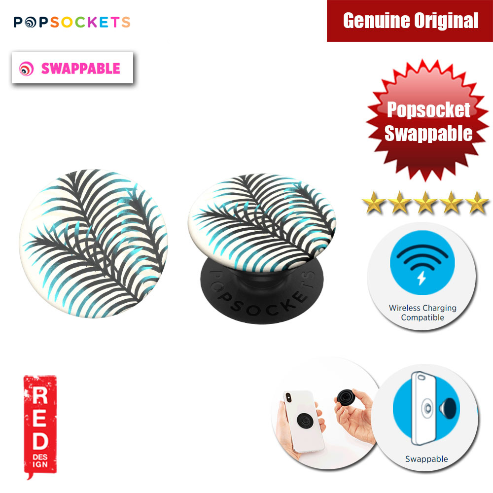 Picture of Popsockets PopGrip Swappable (Pacific Palm) Red Design- Red Design Cases, Red Design Covers, iPad Cases and a wide selection of Red Design Accessories in Malaysia, Sabah, Sarawak and Singapore