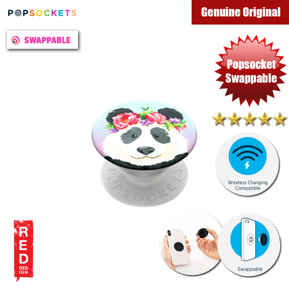 Picture of Popsockets PopGrip Swappable (Pandachella) Red Design- Red Design Cases, Red Design Covers, iPad Cases and a wide selection of Red Design Accessories in Malaysia, Sabah, Sarawak and Singapore